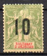 Col17  Colonie Anjouan N° 30 Neuf X MH Cote 6,00€ - Ongebruikt