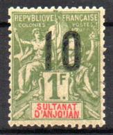 Col17  Colonie Anjouan N° 30 Neuf XX MNH Cote 9,00€ - Ongebruikt