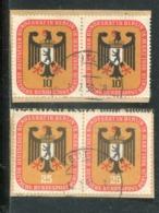 Berlin / 1956 / Mi. 136/137 Paare O (0167) - Berlin (West)