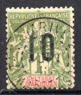 Col17  Colonie Anjouan N° 30 Oblitéré Tananarive Cote 6,50€ - Gebruikt