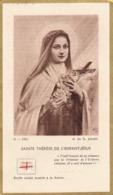Image Religieuse Relique Ste Thérèse De L'Enfant Jésus - Devotieprenten
