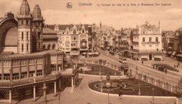 CP- OSTENDE-  Le Kursaal Du Côté De La Ville- - Oostende