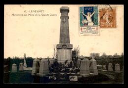 78 - LE VESINET - LE MONUMENT AUX MORTS - Le Vésinet