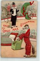 53085333 - Zirkus Max Schumann Clown Pferd Personifiziert - Métiers