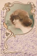 Cartolina - Postcard /  Viaggiata / Sent -  /  Donnina - Donne