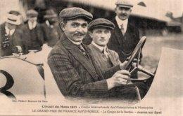 CPA   CIRCUIT DU MANS 1913---COUPES INTENATIONALE DES MOTOCYCLETTES & MOTOCYCLES---LE GAND PRIX DE FRANCE AUTOMOBILES.. - Le Mans