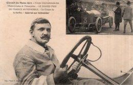 CPA--CIRCUIT DU MANS---INTERNATIONALE DES MOTOCYCLETTES & MOTOCYCLES ---LE GRAND PRIX DE FRANCE AUTOMOBILE--LA COUPE.. - Le Mans