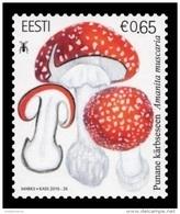 Estonia 2016 Mih. 871 Flora. Mushrooms. Fly Agaric MNH ** - Estonie