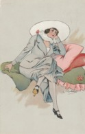 Cartolina - Postcard /  Viaggiata / Sent -  /  Donnina - - Donne