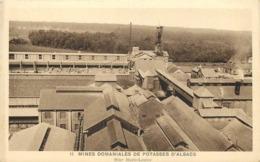 MINES DOMANIALES DE POTASSE D'ALSACE - Mine Marie Louise. - Mines