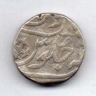 INDE - GWALIOR, 1 Rupee, Silver, AH 1227-35, KM #34 - India