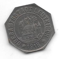 *notgeld Leutkirch 10  Pfennig 1918 Fe   F 294.2 ? - [ 2] 1871-1918 : Empire Allemand