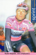 Cyclisme, Ryder Hesjedal, Sprint N°276 - Cyclisme