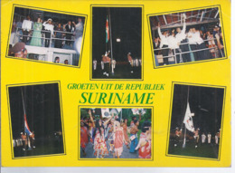 AK-div.31- 829  Suriname -  Republik ... Mehrbild (6) - Surinam