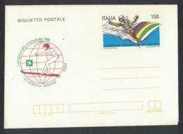 QS266   Italia, 1981, Biglietto Postale, Campionati Di Sci Nautico, L. 150, Nuovo - 6. 1946-.. Republic