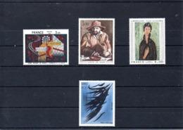 Francia Nº 2107-10 Tema Pintura, Serie Completa En Nuevo 9 € - Francia