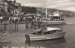 Cartolina - Postcard /  Viaggiata / Sent -  /  Napoli, Bagno Riva Fiorita. - Napoli (Naples)