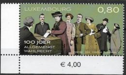 2019 Luxemburg Mi. 2206 **MNH 100 Jahre Allgemeines Wahlrecht - Nuevos