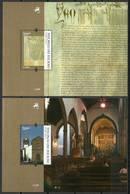 Madeira 2014 Mi Bl 59-60 MNH ( ZE1 MDRbl59-60dav100D ) - Christianity