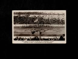 Cartolina Grecia Athenes Le Stade Le Quarantenaire Des Jeus Olympiques - Grecia