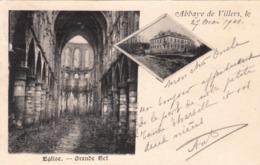 Abbaye De VILLERS, église, Grande Nef - Villers-la-Ville