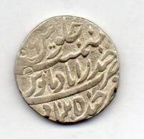 INDE - HYDERABAD, 1 Rupee, Silver, AH 1279, KM #6 - India