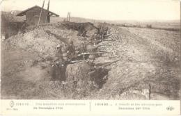 1914-15... Une Tranchée Aux Avant-postes - 24 Décembre 1914 - (ELD) - War 1914-18