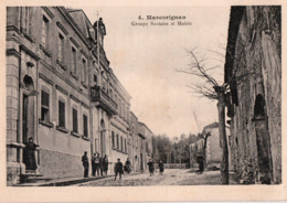 MARCORIGNAN-GROUPE SCOLAIRE ET MAIRIE - France
