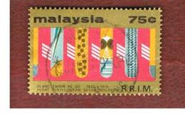 MALESIA (MALAYSIA)  -  SG 143   -   1975  RUBBER RESEARCH INSTITUTE        -  USED ° - Malesia (1964-...)