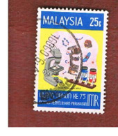 MALESIA (MALAYSIA)  -  SG 147   -   1976  MEDICAL RESEARCH INSTITUTE: MALARIA        -  USED ° - Malesia (1964-...)