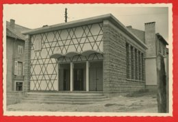 57-092 - MOSELLE  - BOULAY - SYNAGOGUE 16.10.1955 - Photo D'essai Pour Tirage - Boulay Moselle