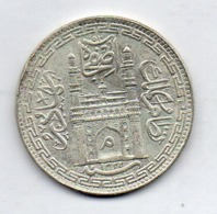 INDE - HYDERABAD, 1 Rupee, Silver, AH 1322, Year 39, KM #40.1 - India