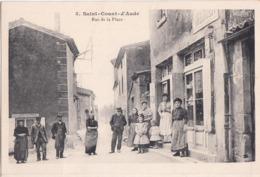 SAINT COUAT D'AUDE-RUE DE LA PLACE - Other Municipalities