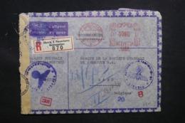 SUISSE - Enveloppe Commerciale De Zurich Pour Gand En 1943 Avec Contrôle Postal , Affranchissement Mécanique - L 43445 - Poststempel