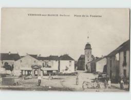 70 VERNOIS SUR MANCE ... Place De La Fontaine (Cueillette) Petite Animation - France