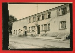 57-094 - MOSELLE  - SCHRECKLING - Café - Restaurant - TerrasseJ. Dillinger - Photo D'essai Pour Tirage - Boulay Moselle