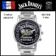 Montre à Quartz NEUVE Bracelet Acier ! ( Watch ) - Jack Daniel's ( Ref 1B ) - Montres Modernes