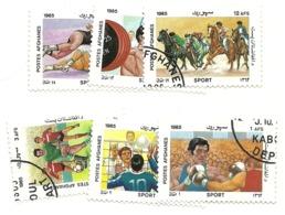 Afghanistan - Lotto Di 6 Francobolli - Afghanistan