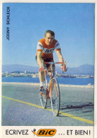 JOHNY  SCHLECK - EQUIPE  BIC  N970 - Cyclisme