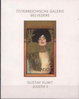 2003  Austria Österreich Mi  Bl 22  **MNH   Judith I; Von Gustav Klimt - Blocks & Kleinbögen