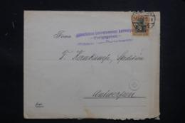 ALLEMAGNE - Enveloppe Commerciale De M. Gladbach Pour Anvers En 1917, Voir Griffe D'Anvers - L 43448 - Allemagne
