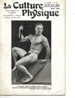 """Revue  N° 589 """"La Culture Physique"""" 1939 / 34 Pages / Imp PARIS/ Nb Articles Et Publicités / Culturiste J RUSSEL - Livres, BD, Revues"""