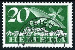 Suiza Nº A-4 (papel Ordinario) Usado - Aéreo