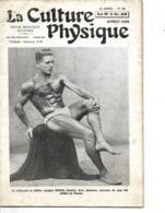 """Revue  N° 588 """"La Culture Physique"""" 1939 / 34 Pages / Imp PARIS / Nb Articles Et Publicités / Culturiste BUSCH - Livres, BD, Revues"""