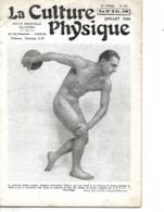 """Revue  N° 591 """"La Culture Physique"""" 1939 / 34 Pages / Imp PARIS / Nb Articles Et Publicités / Culturiste PALLARES - Livres, BD, Revues"""