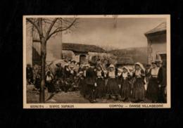 Cartolina Grecia Corfù - Danse Villageoise - Grecia