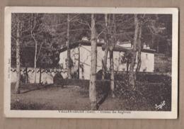 CPA 30 - VALLERAUGUE - Château Des Angliviels - TB PLAN EDIFICE Avec Détails + Jolie Oblitération Verso - Valleraugue