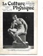 """Revue  N° 590 """"La Culture Physique"""" 1939 / 34 Pages / Imp PARIS/ Nb Articles, Publicités / Culturiste BALSEKAR / Banania - Livres, BD, Revues"""
