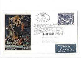 22513 - Christkindl 1970 Cover Pour Zürich 27.11.1970 + Air Mail - Noël