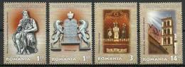 Romania 2013 Mi 6736-6739 MNH ( ZE4 RMN6736-6739dav100D ) - Sculpture